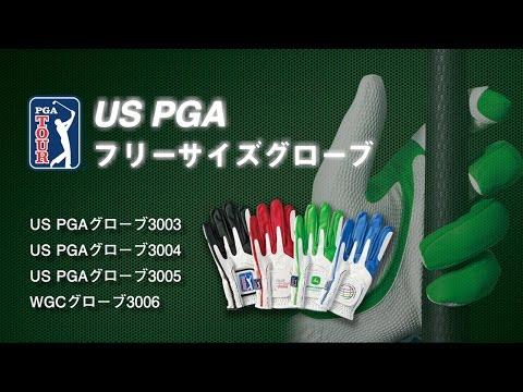 【動画】US PGAグローブ フリーサイズ ダイヤゴルフ