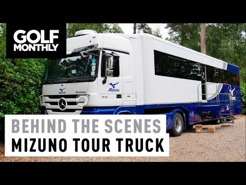 Inside The Mizuno Tour Truck I Golf Monthly