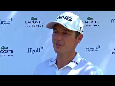 Lacoste Junior Tour 2018 : Julien Quesne en visite au CFJ