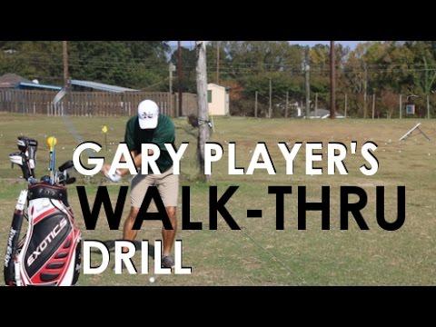 Gary Player's Walk Through Drill