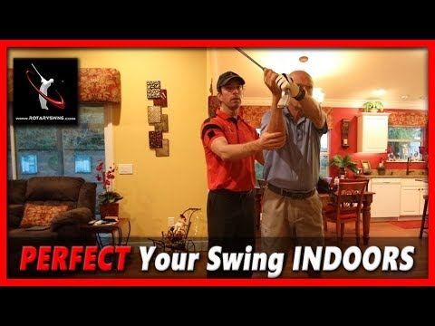 How to Perfect Your Golf Swing Indoors During the Winter – Lesson 8