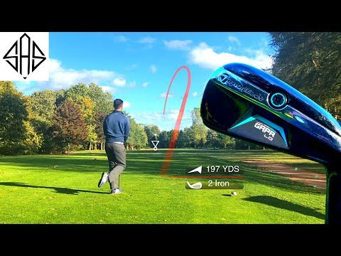 THE EXPENSIVE TAYLORMADE GAPR 2 IRON ONLY VLOG (PROTRACER APP COMPILATION)