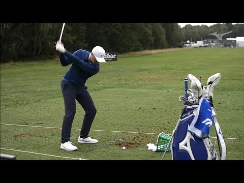Mizuno on the Range with Oliver Fisher