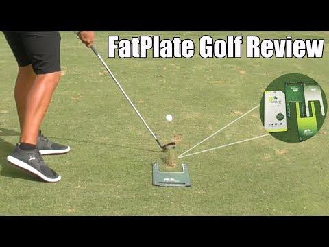 Golf Training Aids : FatPlate Review