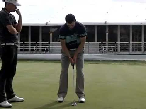 USPGA Golf Champion Martin Kaymer – Putting Stroke (Face On)