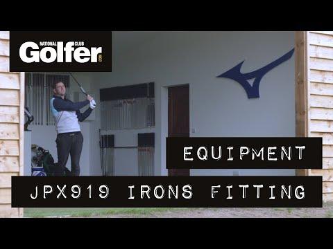 Mizuno JPX919 Irons Fitting