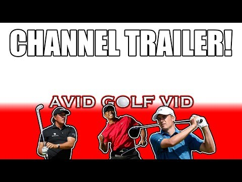 WELCOME TO MY CHANNEL – AVID GOLF VID