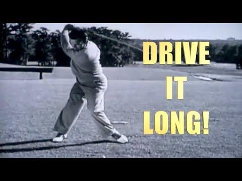 BEN HOGAN LONG DRIVE GOLF SWING