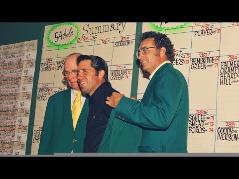 1974 Masters Tournament Final Round Broadcast