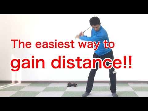 Golf swing lesson / slow motion / Distance / driver iron /  [Golf Swing Kinematics Japan]