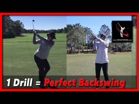 Learn the Perfect Golf Backswing in 3 Steps – RotarySwing Lesson 14