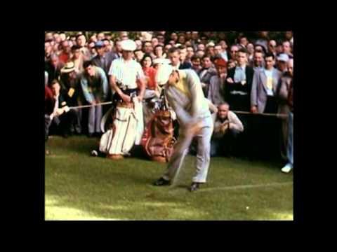 Ben Hogan colour swing-