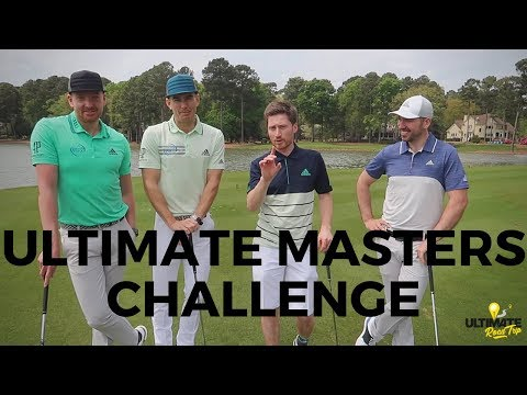 THE ULTIMATE MASTER'S GOLF CHALLENGE + AUGUSTA VLOG! ft Me & My Golf + Peter Finch!