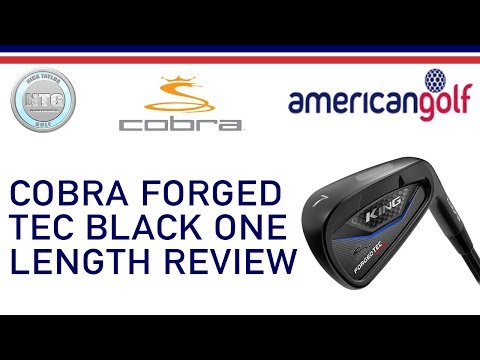 Cobra forged TEC ONE length iron | Club Review | American Golf