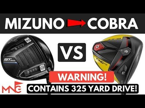 Mizuno ST190G Driver VS Cobra King F9 SpeedBack Driver – Some Of My Longest Hits!!