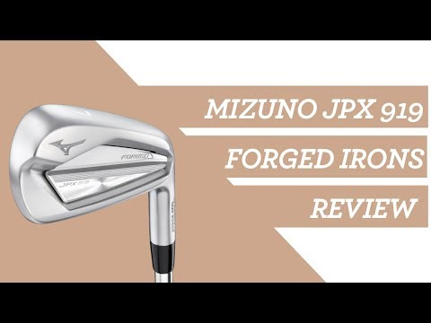 Mizuno JPX 919 Forged Irons: A Fitters Review  #Mizuno #Irons #Golf