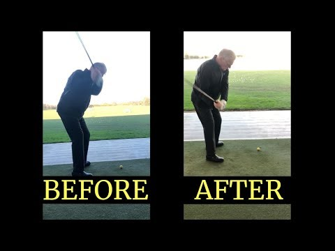 STOP THE SLICE AND HIT THE GOLF BALL STRAIGHT IN 45 MINUTES