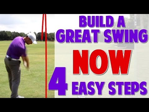 Golf Swing Made Simple (4 Step Progression)
