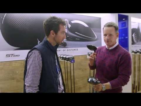 Luke Donald and Mizuno at the 2019 PGA Golf Show