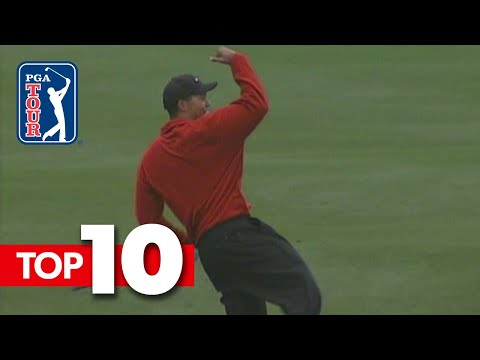 Top 10 All-time shots from AT&T Pebble Beach Pro-Am