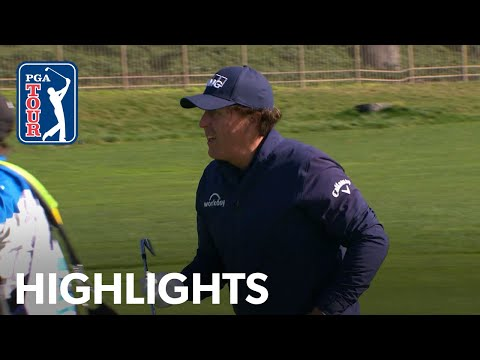 Phil Mickelson highlights | Round 3 | AT&T Pebble Beach 2019