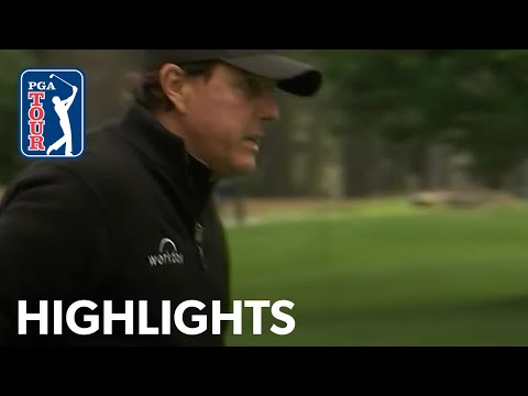 Phil Mickelson highlights | Round 2 | AT&T Pebble Beach 2019