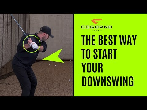 GOLF: The Best Way To Start Your Downswing