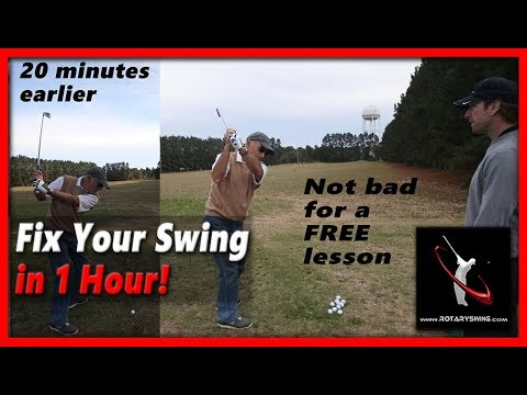 How to Fix Your Entire Golf Swing in 1 Hour – RotarySwing.com