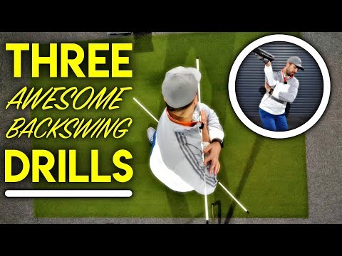 Three Awesome Indoor Backswing Drills!
