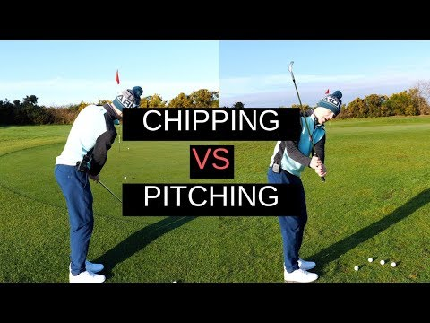 CHIPPING Vs PITCHING – CRAZY DETAIL
