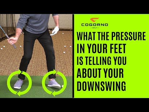 GOLF: What The Pressure In Your Feet Is Telling You About Your Downswing