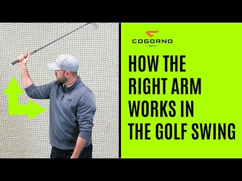 GOLF: How The Right Arm Works In The Golf Swing