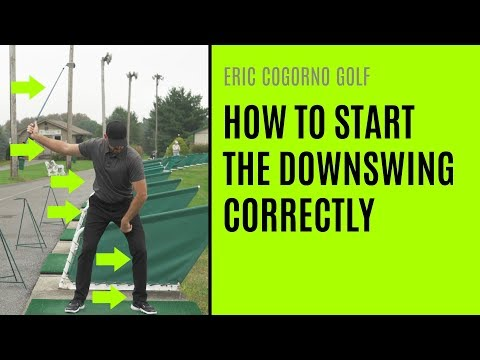 GOLF: How To Start The Downswing Correctly