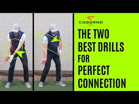 GOLF: The Two Best Drills For Perfect Connection In Your Golf Swing