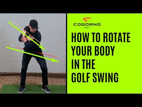 GOLF: How To Rotate Your Body In The Golf Swing