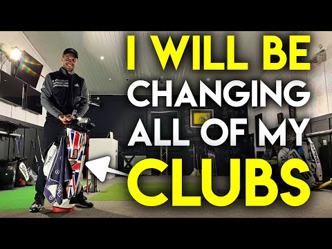 I'll Be Changing All Of My Golf Clubs