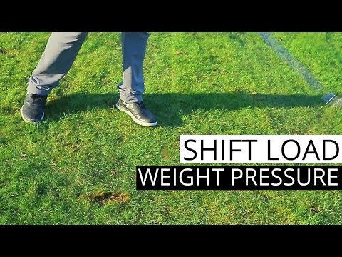 GOLF SWING TIPS ON HOW TO TRANSFER YOUR WEIGHT FOR A MORE POWERFUL GOLF SWING