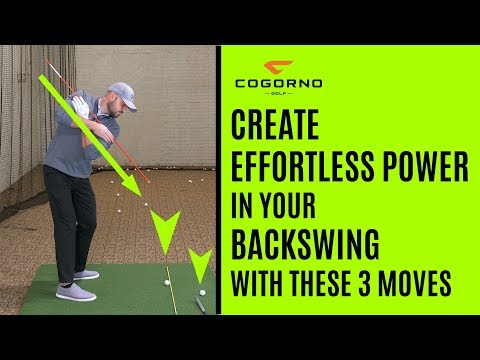 GOLF: How To Create Effortless Power In Your Backswing With These 3 Moves