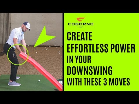 How To Create Effortless Power In Your Downswing With These 3 Moves