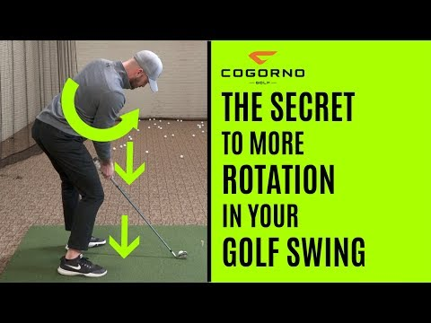 GOLF: The Secret To More Rotation In Your Golf Swing