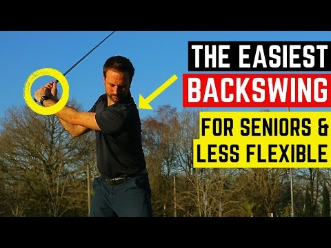 FIND AN EASY BACKSWING WITH THESE BASIC SWING TIPS – IDEAL FOR SENIOR & LESS FLEXIBLE GOLFERS