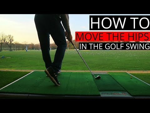 HOW TO MOVE YOUR HIPS IN THE GOLF SWING / BASIC SWING TIPS ON SHIFTING PRESSURE