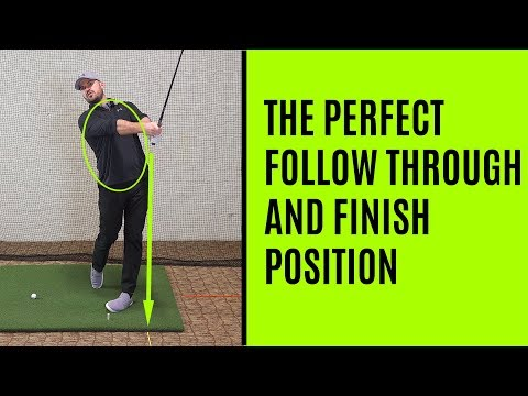 GOLF: The Perfect Follow Through And Finish Position