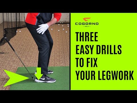 GOLF: Three Easy Drills To Fix Your Legwork