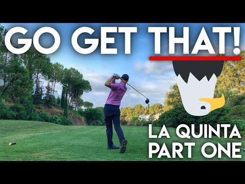 GO GET THAT!! La Quinta Course Vlog – Peter Finch vs Matt Fryer vs The Average Golfer – Part One