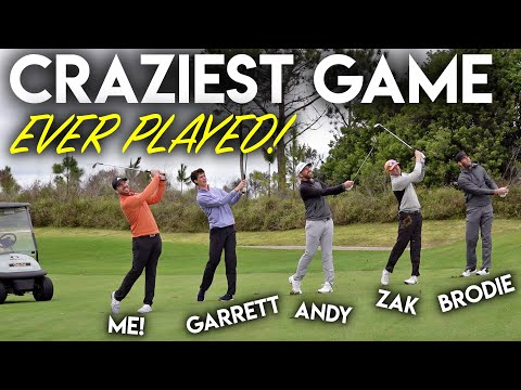 The CRAZIEST GAME Ever Played – Brodie Smith, GM__Golf, Zak Radford and Andrew Jensen!