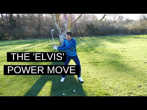 EASY GOLF SWING – THE ELVIS POWER MOVE