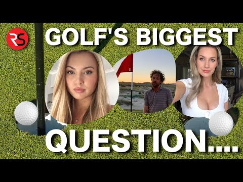 GOLF'S BIGGEST QUESTION…..