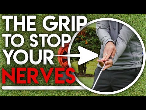 The NEW GRIP to cure your putting nerves…