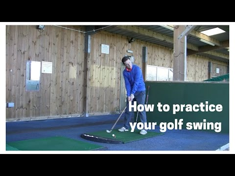 How to practice your golf swing